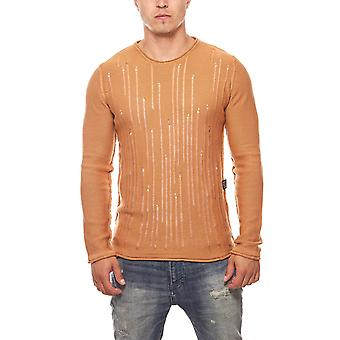 CARISMA summer sweater mens Brown