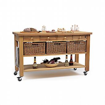 The Lambourn four drawer trolley