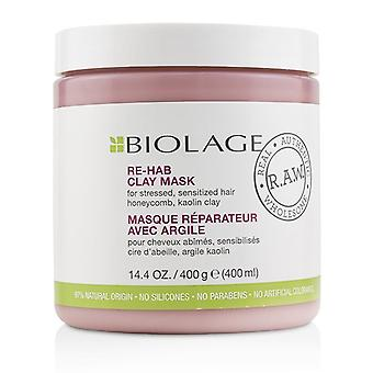 Matrix Biolage R.A.W. Re-Hab ler maske (For stresset overfølsomme over hår) - 400ml/14.4 oz