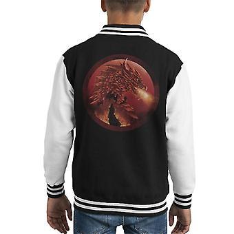 Game Of Thrones Dragonstone Kid's Varsity Jacket