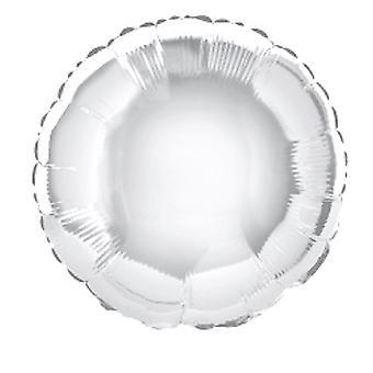 Folie ballon ronde solide behuizing van Metallic zilver