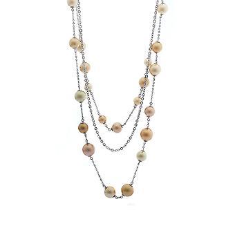 Misaki ladies necklace silver SAND QCRNSAND