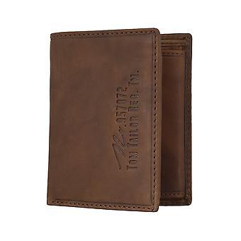 TOM TAILOR hombres monedero billetera monedero coñac 4808