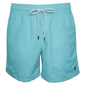 Polo Ralph Lauren Traveller Swim Shorts, Hammond Blue W/navy