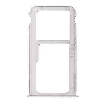 For Huawei Mate 8 SIM Card Tray - Silver