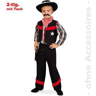 Cowboy costume kids Wild West gunfighter Arizona rancher child costume