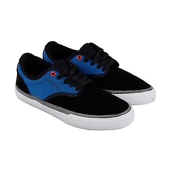 Emerica Wino G6 X Deathwish Mens Black Suede & Canvas Sneakers Skate Shoes