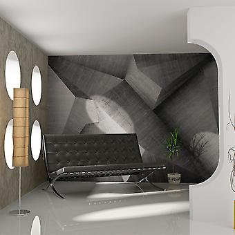 Tapeter - abstrakt betongblock
