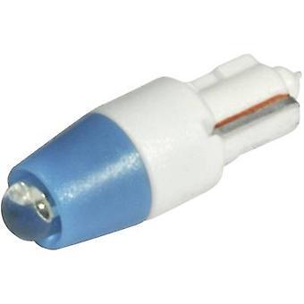 CML LED bulb W2 x 4.6d Blue 12 Vdc, 12 V AC 560 mcd 1511 A25 B3