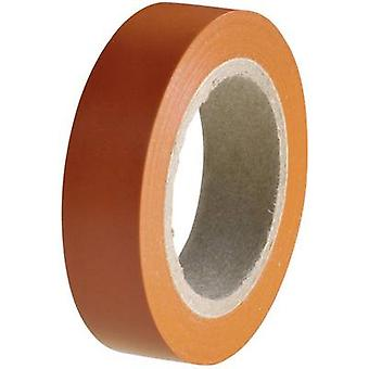 Electrical tape HelaTape Flex 15 Orange (L x W) 10 m x 15 mm Hel
