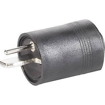 BKL électronique 0205003 Audio jack Plug, droite nombre de broches: 2 Black 1 PC (s)