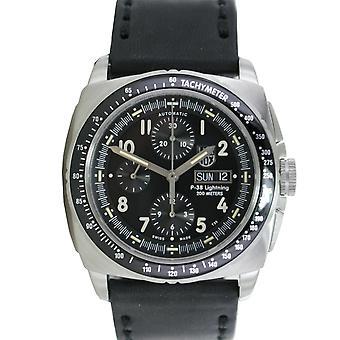 Luminox reloj cronógrafo automático de acero inoxidable P-38 relámpago 9461