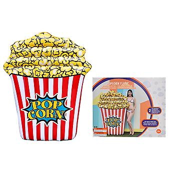 Inflatable Popcorn Pool Float Lilo Airbed