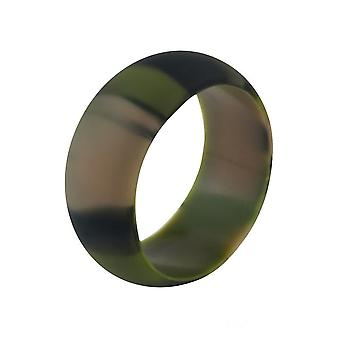 BOOLAVARD Silicone Wedding Ring for Men and Women Affordable Silicone Rubber Band, 7 Pack, 5 Pack & Singles