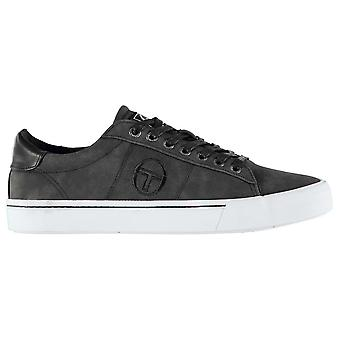 Sergio Tacchini Mens Positano Trainers Low Lace Up Padded Ankle Collar Textured