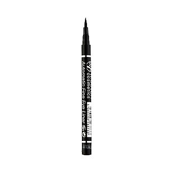 W7 Cosmetics Automatic Fine Waterproof Eyeliner Black 0.7g