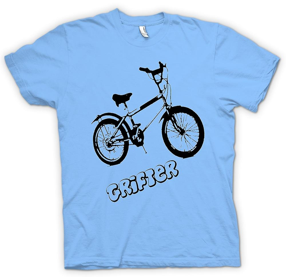 Mens T-shirt - Grifter - altes Skool Retro Fahrrad