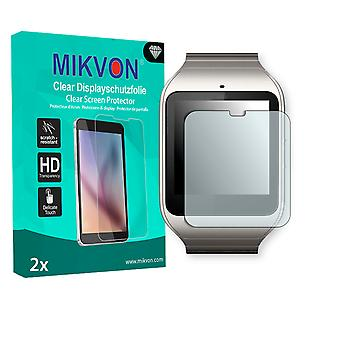 Sony SmartWatch 3 Screen Protector - Mikvon Clear (Retail Package with accessories) (reduced foil)