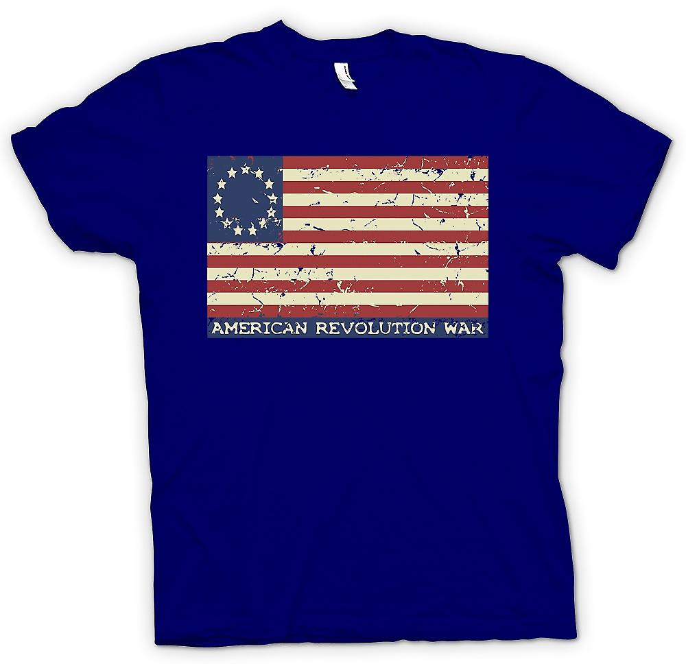 Mens T-shirt - American Revolution Stars And Stripes