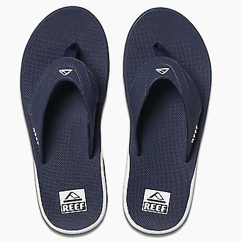 Reef Mens Sandals ~ Fanning navy/white