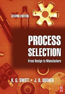 Process Selection From Design to Manufacture by Swift & K. G.