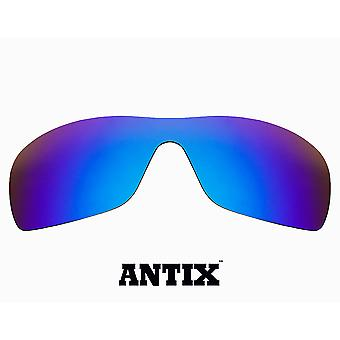 ANTIX Replacement Lenses Polarized Blue Mirror by SEEK fits OAKLEY Sunglasses