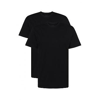 Boss 2-Pack Relaxed-Fit Crew-Neck T-Shirts, Black