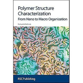 Caractérisation de polymères de Structure: Du Nano au Macro organisation (Issues in Environmental Scienc)