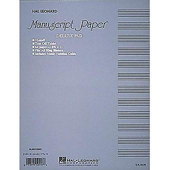 Notenpapier (Deluxe Pad)