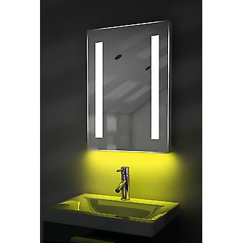 Ambient Audio LED Mirror With Demister, Shaver & Sensor k205iaud