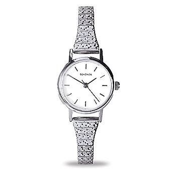 Sekonda wrist watch, analog, female, stainless steel, Silver
