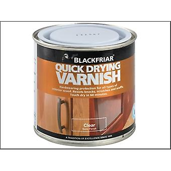 Blackfriar Quick Drying Duratough Interior Varnish Clear Satin 500ml