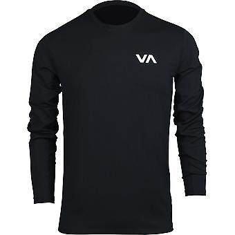 RVCA Mens VA Sport VA Vent Performance LS Shirt - Black