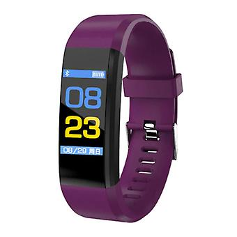 Stuff Certified ® Original ID115 Plus Smartband Sport Smartwatch Smartphone Watch iOS Android Purple