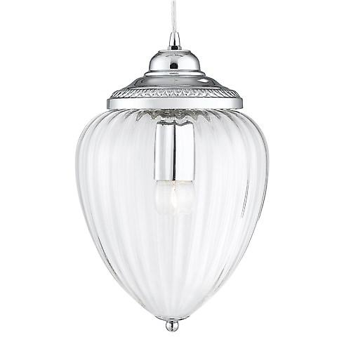 Searchlight 1091CC Optic Traditional Cable Pendant With Optic Glass