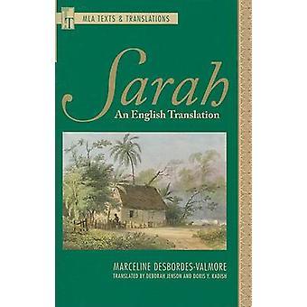 Sarah by Deborah Jenson - 9781603290272 Book