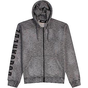 Dsquared2 logo Print hoodie cinza