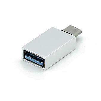 Dynamode USB-C Type-C Female to USB3 Adapter Grey (C-TC-USB3)