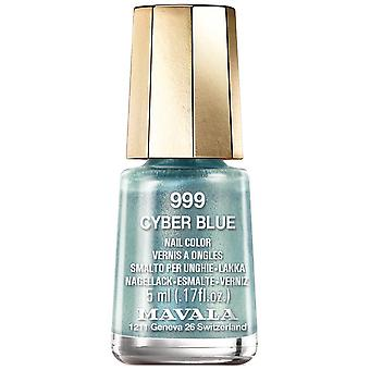 Mavala Cyber Chic 2018 Nail Polish Collection - Cyber Blue (999) 5ml