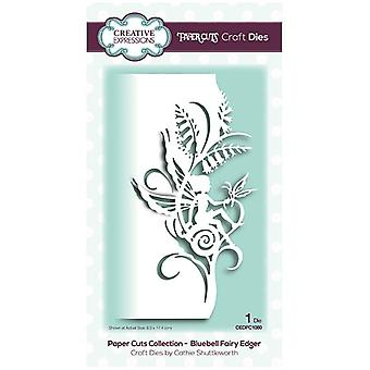 Creative Expressions Die Bluebell Fairy Edger | Paper Cuts Collection