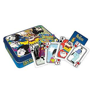 Playing Card - The Beatles - Yellow Sub (Tin Box) Poker Licensed Gifts 104016