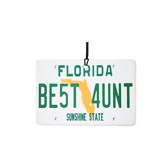 Floride - meilleure tante License plaque voiture assainisseur d'Air
