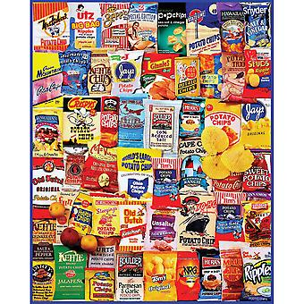 Puzzle Puzzle 1000 pièces 24 « X 30 »-Potato Chips WM1035