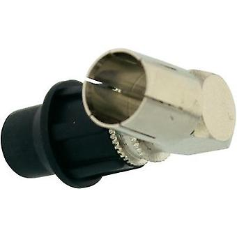 F-CONNECTOR MALE QUICK METALLIC INCL CAP