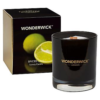 Wonderwick Noir Candle in a Glass - Spiced Lime