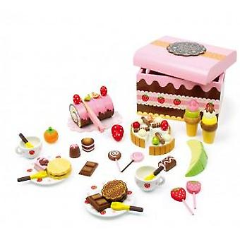 Legler Sweeties Box (Toys , Home And Professions , House , Food)