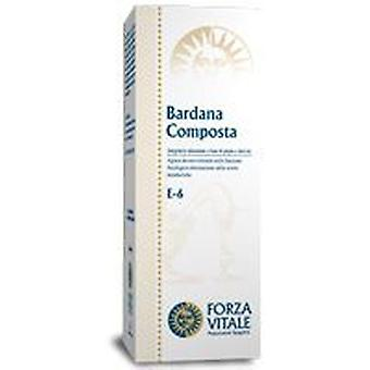 Forza Vitale Compost Extract Burdock 100Ml. (Herbalist's , Natural extracts)