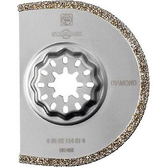 Diamond Semi circle blade 75 mm Fein 63502114210 Compatible with (multitool brand) Fein, Makita, Bosch, Milwaukee, Me