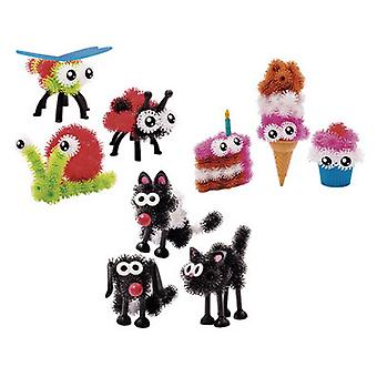 Bizak Bunchems September 3 Characters (Toys , Constructions , Characters And Animals)
