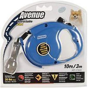 Avenue Retractable Lead Cord Mini Blue